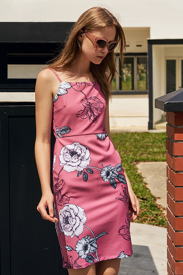 Corene Floral Printed Dress