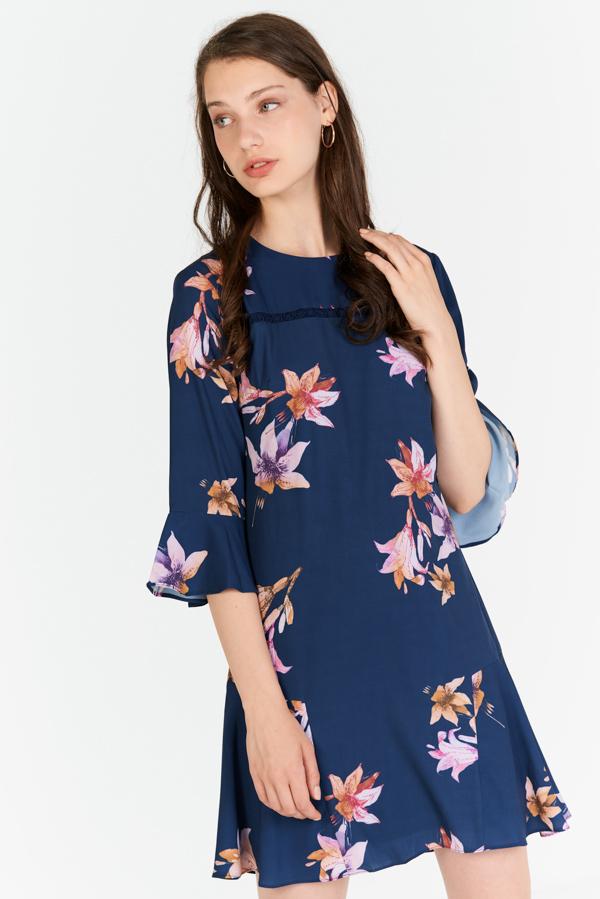Shayne Floral Printed Dress