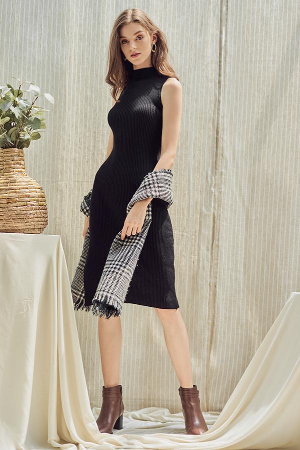 Tallulah Knitted Midi Dress