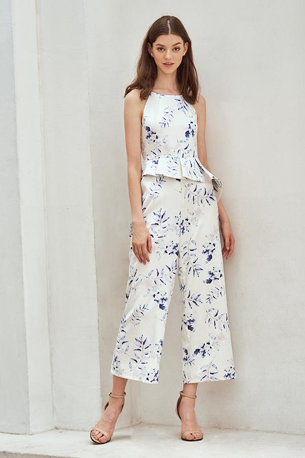 Isabella Floral Printed Jumpsuit