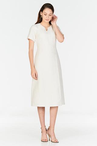 *W. By TCL* Cordelle Tweed Midi Dress