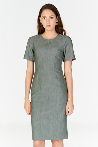 *W. By TCL* Evanis Dress in Grey