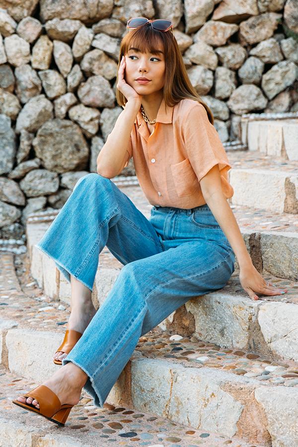*Restock* Blanca Jeans in Light Wash