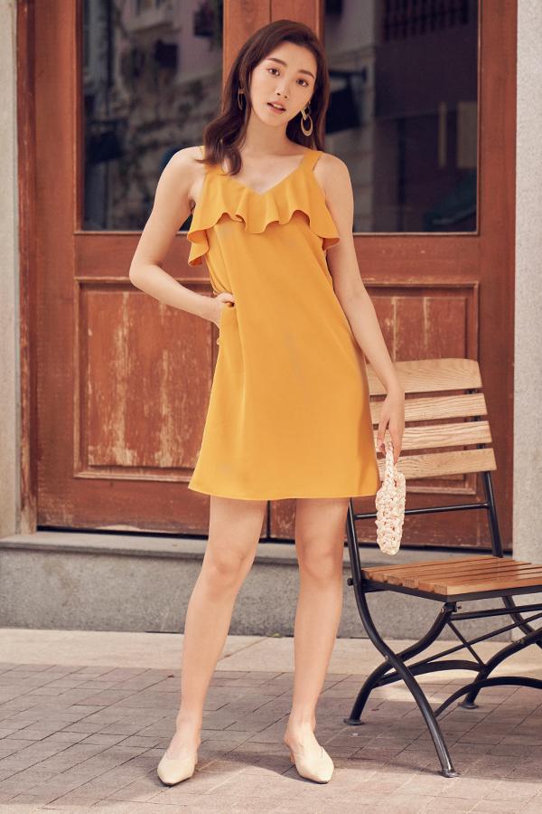 Kadence Two Way Dress in Marigold