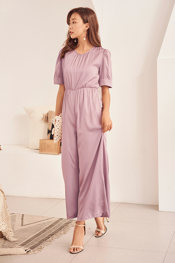Gianni Jumpsuit in Lavender