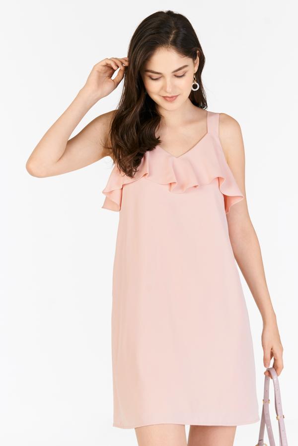 Kadence Two Way Dress in Powder Pink