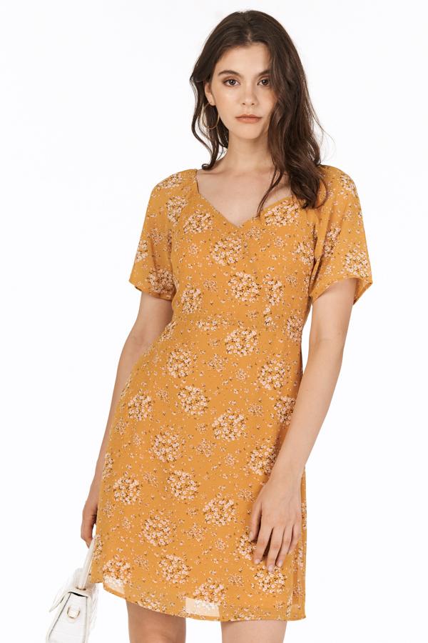 Cassa Dress in Dandelion