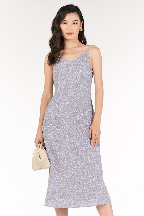 *Backorder* Rowella Slip On Midi Dress in Lilac