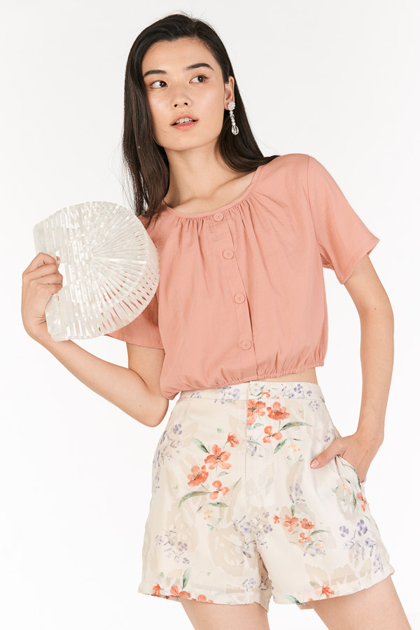 Creston Top in Pink