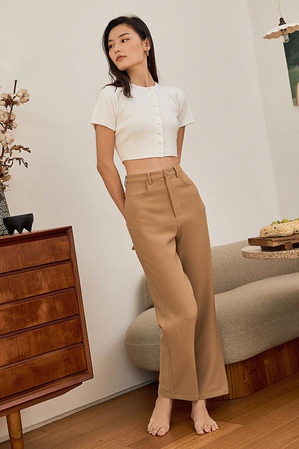 Grandell Pants in Mocha